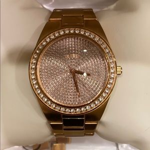Rose Gold Guess Bracelet Watch